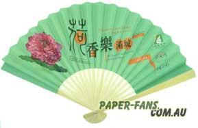 Kínai reklám legyezők